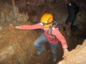 Belize cave exploration with Hamanasi