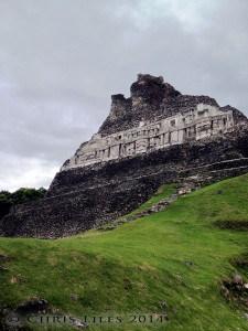 belize mayan history tour with Hamanasi Xunantunich