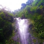 waterfall repelling Belize