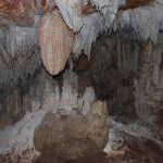 Geologic formations in St Herman's Cave
