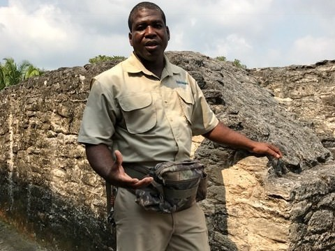 Hamanasi Guide Hartfield on Magical Mayan History Tour