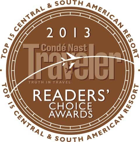 Hamanasi Resort in Belize wins 2013 Conde Nast Traveler Readers' choice award