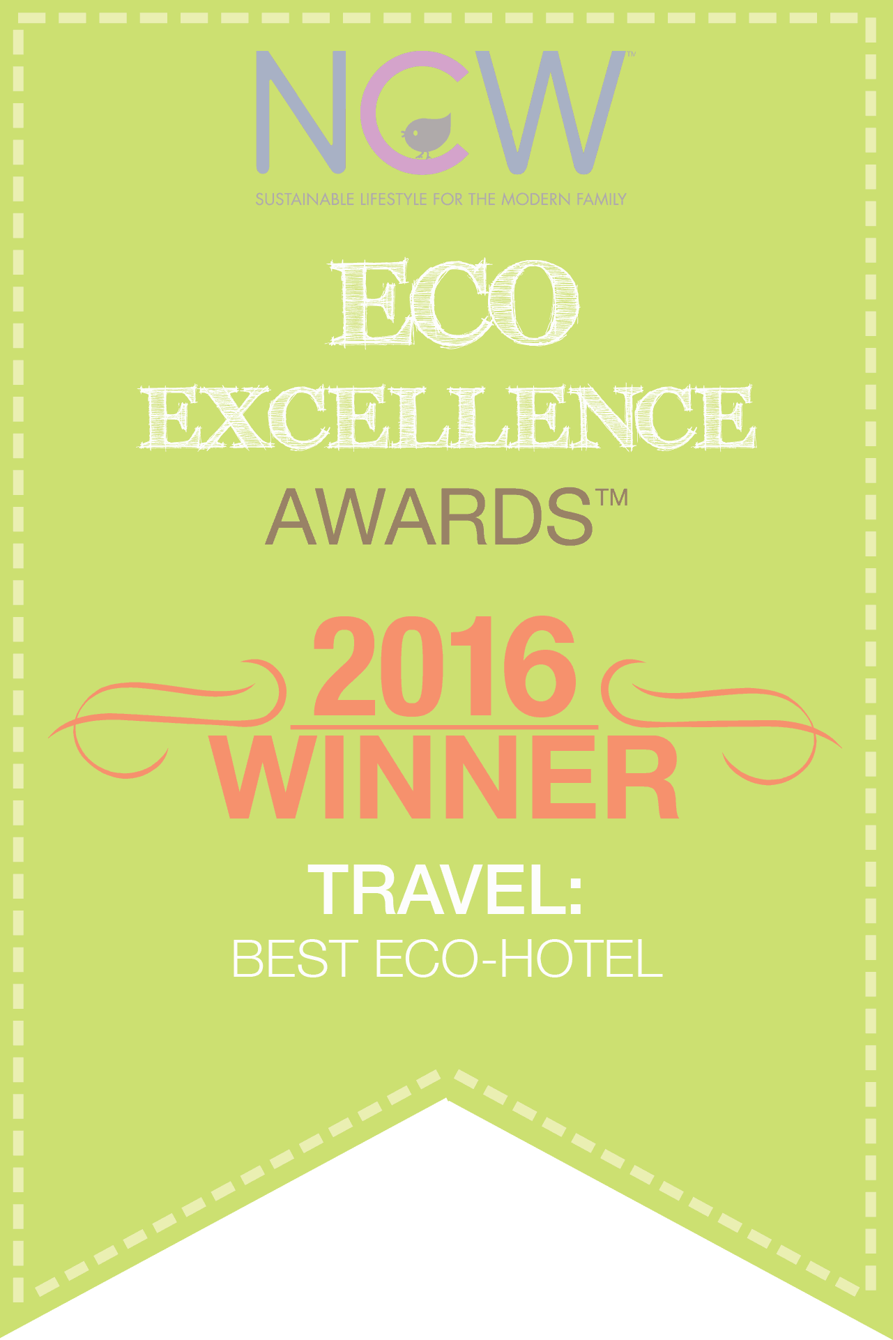 Best Ecohotel in the World for 2016 Awarded to Hamanasi Resort by NCW Magazine